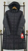 NWT THE NORTH FACE Medium Womens Metropolis 550 Down Coat Parka Jacket Black