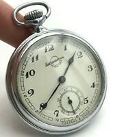 Soviet Pocket Watch Zlatoust Plant RARE Casual Classic Mechanical 1955 SERVICED