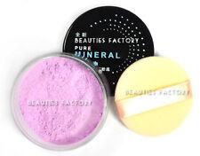 Mineral Make up Foundation Loose Face Powder Natural Sheer Finish #07 Lavender