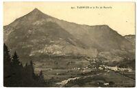 CPA 74 Haute-Savoie Taninges et le Pic de Marcelly