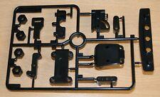 Tamiya 9006835/50717 TA03 E Parts (Bumper) (Black Version) (TA03F/TA03R), NEW