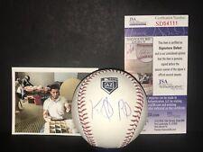 Keibert Ruiz LA Dodgers JSA DEBUT COA Signed 2018 Spring Training MLB Baseball A