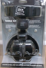 NEW! Glock Shooter's Earmuffs Hearing Protection Gun Smith Range Safety One Size