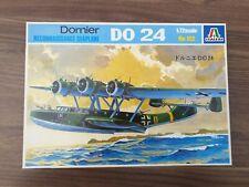 Vintage Italeri Dornier Do 24 Reconnaissance Seaplane 1:72 Model Kit COMPLETE