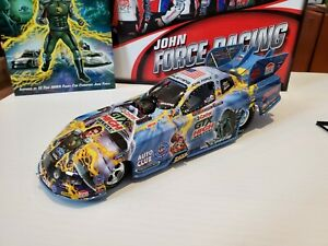 XRARE 2012 John Force Castrol Comic Book Car 1:24 NHRA Funny Car MIB #85/744