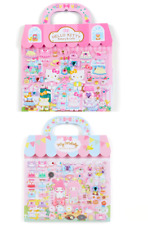 Hello Kitty / My Melody..Dress-up Sticker in a Paper Bag Sanrio Official Japan