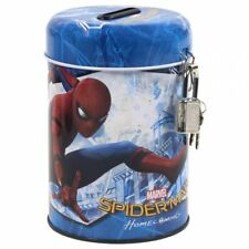Spiderman Homecoming tirelire en métal avec cadenas idée cadeau Marvel Heros