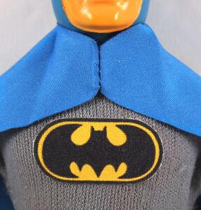 "Repro Mego 8"" Batman Action Figure Part - Pre-Cut FABRIC Sticker,Emblem,Decal"