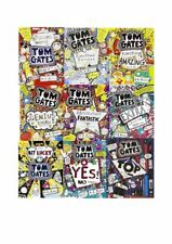 Tom Gates Collection Liz Pichon 9 Books Set Children Gift Pack Tiny Bit Lucky