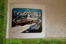 Alter Aufkleber Automobile VOLVO 360 GLT 5 SPEED