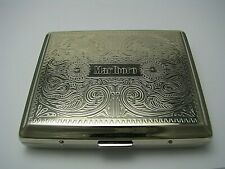 New listing Marlboro Cigarette Case Steel Case or Alloy Metal New-Old Stack Usa c1990s Excel