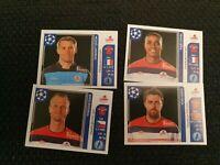 PANINI Champions League 2011-12 x 16 stickers Lille