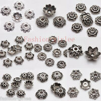 Lot 200X Tibet Silver Metal Spacer Beads Caps 6/7/8/9mm Jewelry Making Bead DIY