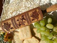 Springerle Keks Handgemachtes Nudelholz  Rollholz für Lebkuchen von Oma Marta