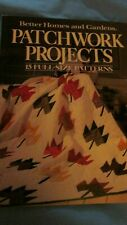 Vintage Book , Patchwork Projects , Seminole Vest , others . 1985 BH&G