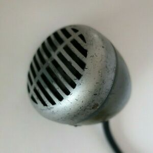 Vintage Shure Green Bullet 520D Controlled Magnetic Mic Working Sounds Great!