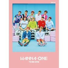 Wanna One [1x1=1 To Be One] 1st Mini Pink Ver.CD+Poster+Sleeve+Card+Booklet+etc