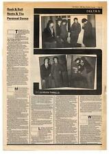 Delta 5 Interview NME Cutting 1980
