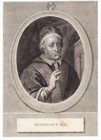 Portrait XVIIIe Pape Innocent XIII Papa Innocenzo XIII Michelangelo Conti Poli