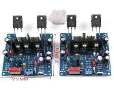 2PCS MX50 SE 100WX2 Dual Channels Audio Power amplifiers Board Diy Kit L