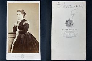 Cremière, Paris, Alice Marie Angèle Pasquier, dite Madame Pasca Vintage cdv albu