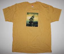 Primus-Sailing Sea of Cheese-Large Mustard T-shirt