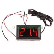 -50~110C Digital Thermometer Temperature LCD Meter Gauge Panel With Sensor Probe