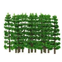 """20pcs 3.5"""" Fir Trees HO N Scale Model Train Layout Scenery"""