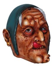 Scary Halloween Latex Head Face Mask Witch