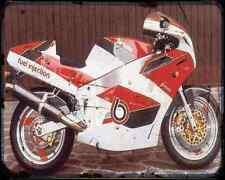 Bimota Yb8 Furano 4 A4 Metal Sign Motorbike Vintage Aged