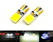 2 COB LED Light White T10 194 501 W5W Bulb 6W Number Plate Side Land Rover Mazda