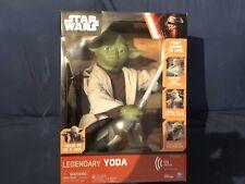 Star Wars Legendary Yoda 16� Interactive Figure 115 Phrases Nib