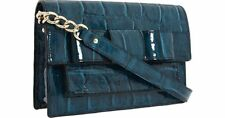 KATE SPADE Knightsbridge Shayla Modern Crossbody Clutch bag RARE COLOR TEAL $345
