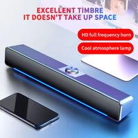 USB Bluetooth PC Computer Speakers TV Sound Bar Home Theater System Soundbar HOT