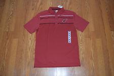 NWT Mens NFL Team Apparel RED ARIZONA CARDINALS Polo Shirt Size M Medium 17e0a6686