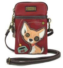 Charming Chala Chihuahua Puppy Dog Cell Phone Purse Mini Crossbody Bag