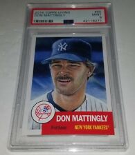 2018 Topps Living #85 Don Mattingly Card Graded PSA 9 Mint Sold Out