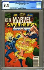 MARVEL SUPER HEROES V2 #11 - CGC 9.4 - WP NEWSSTAND - MS MARVEL/ROGUE STORY