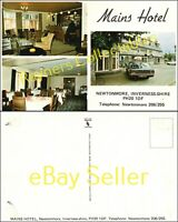 Mains Hotel NEWTONMORE, INVERNESS-SHIRE Vintage Postcard <B3/17
