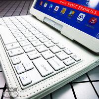 Bluetooth Keyboard Leather Case Cover for Samsung Galaxy Tab4 Tab 4 10.1 SM-T530