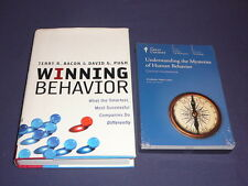 Teaching Co Great Courses DVDs    UNDERSTANDING the MYSTERIES of HUMAN BEHAVIOR