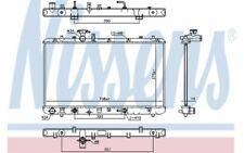 NISSENS Radiateur moteur 64255 - Pièces Auto Mister Auto