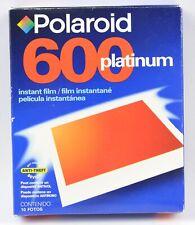 Polaroid 600 Platinum Instant Film Color Boxed