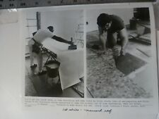 """Vintage Glossy Press Photo Wallpaper & Flooring Dorcester """"This Old House"""" 1986"""