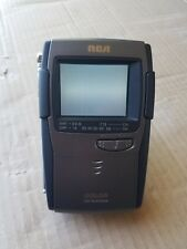 RCA Portable LCD Color TV 16-3050 Television Vintage Battery 2 Inch Pocket Tuner