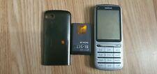 Nokia C3-01 - Plateado (Desbloqueado) Teléfono Móvil