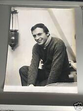 JEAN-LOUIS TRINTIGNANT - PHOTO DE PRESSE ORIGINALE 27x21cm