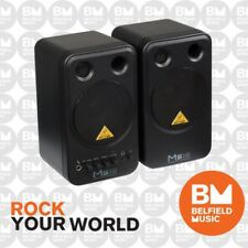 Behringer MS16 Studio Monitor Speakers Active 16W Peronsal Monitors MS-16 - BM
