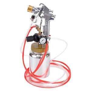 Alum Alloy 0.5 Gallon Air Paint Sprayer Set Kit Air Spray Gun for Paint Sprayer