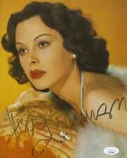 Hedy Lamarr Jsa Coa Hand Signed 8x10 Photo Autograph
